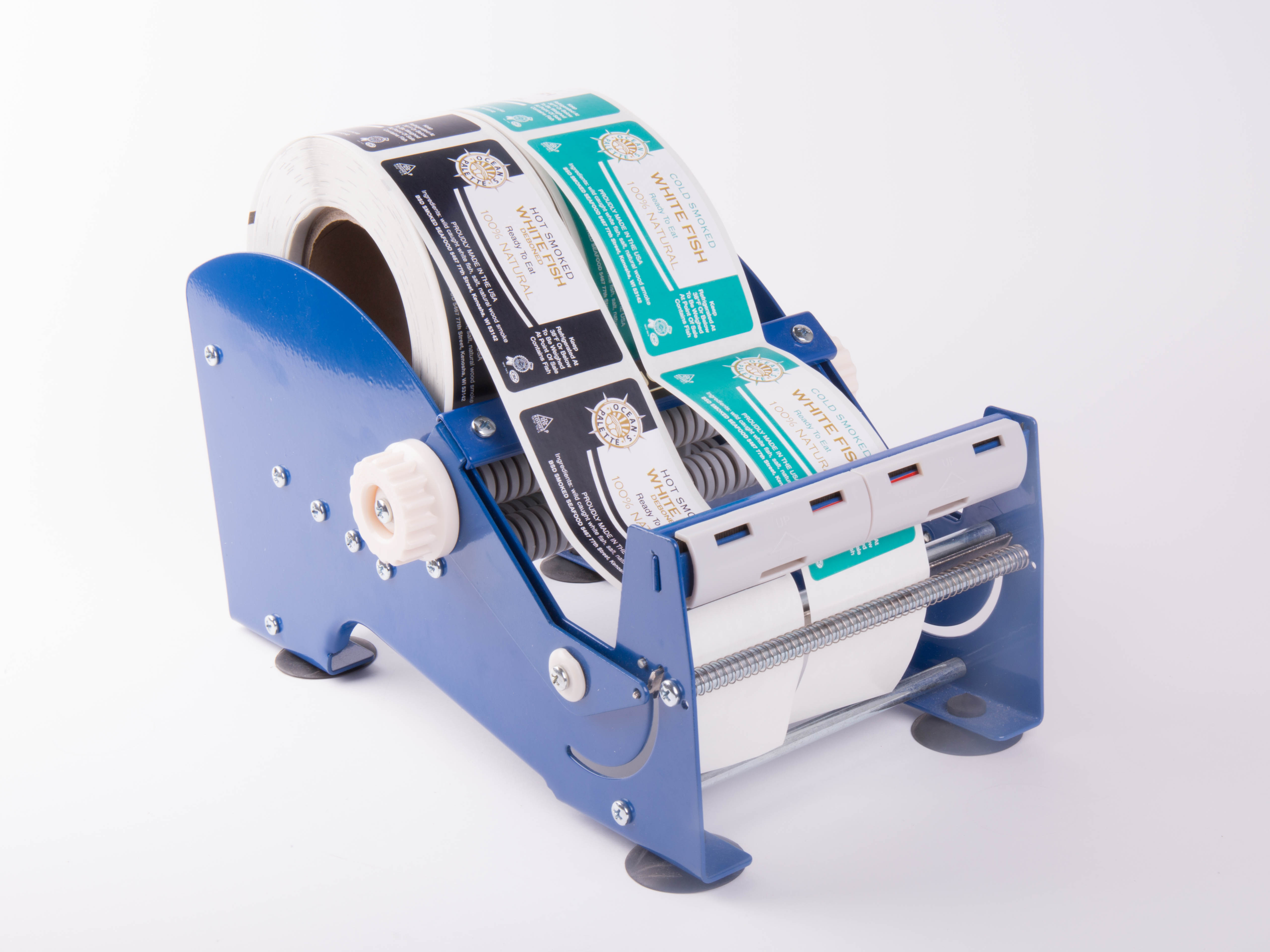 how to change roll towa label applicator