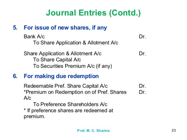 what is cash trust in journal entry on application