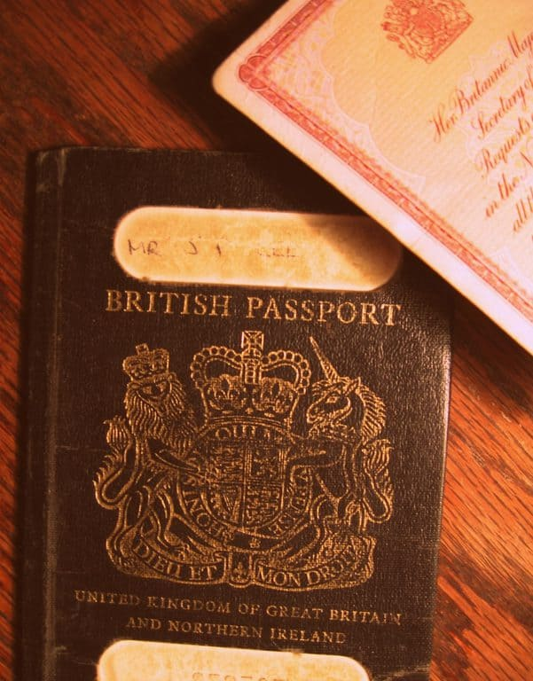 first time application for uk passport