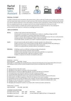 retail job application sample letter