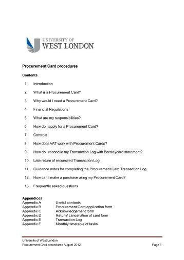 university of west london application form