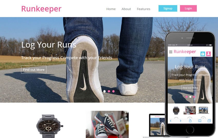 how to use runkeeper application