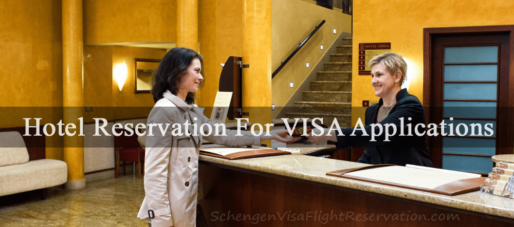 the visa application was lodge in the ystem