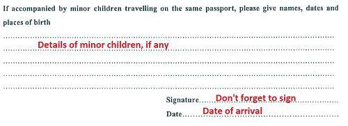 thai visa application form australia