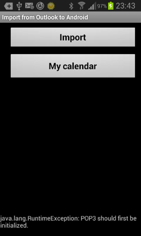 outlook calendar application for android
