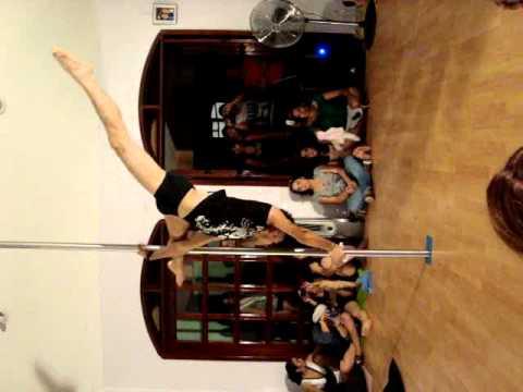 pole dancing on job application