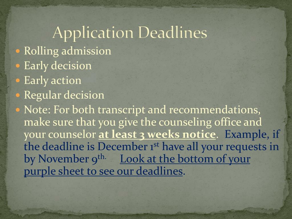 murray state university application deadline