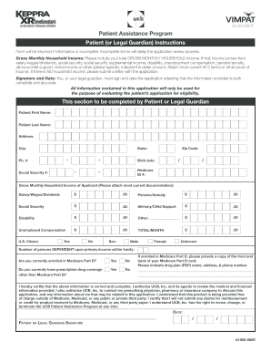 vimpat patient assistance program application