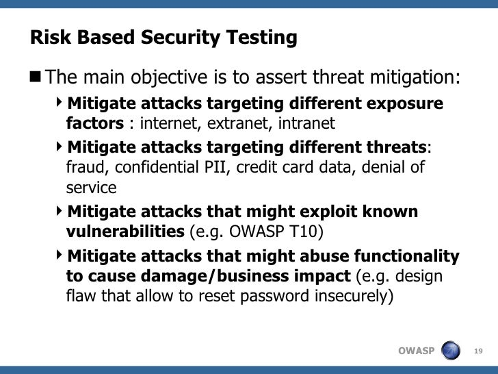 web application security manual testing