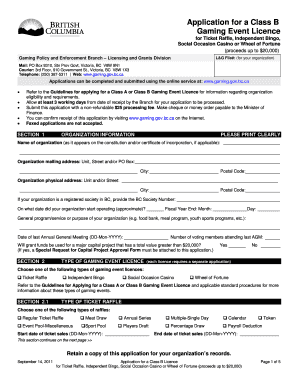 nsw gaming licence application form