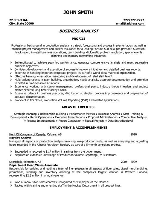 application support analyst resume examples