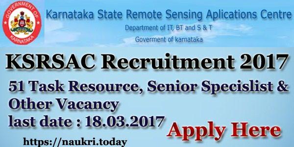 karnataka state remote sensing applications centre yelahanka