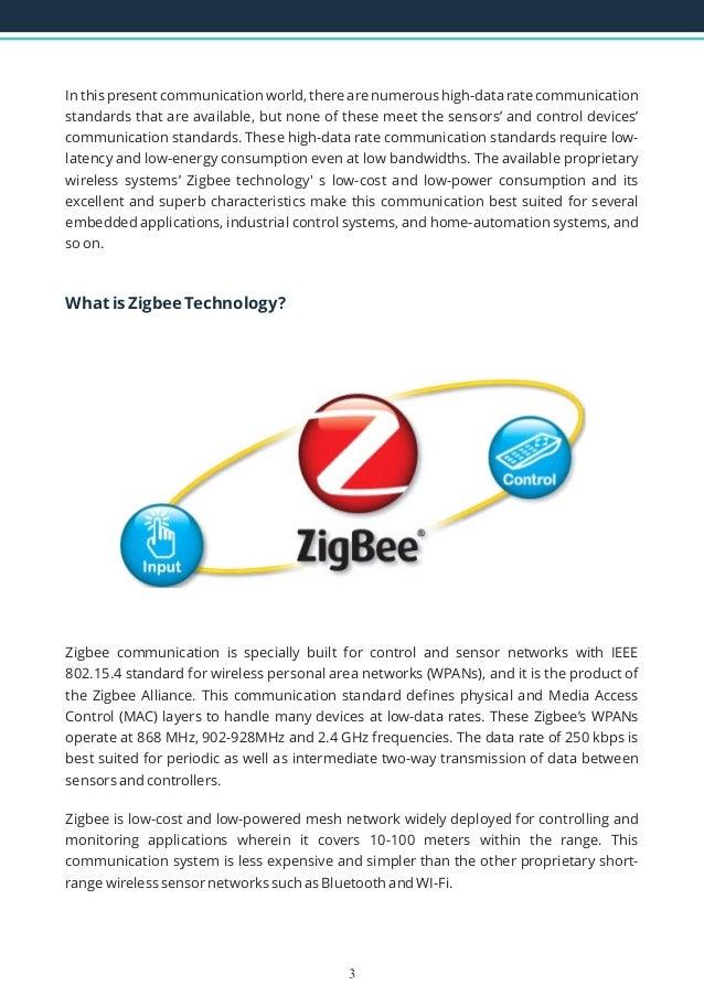 applications of zigbee wireless technology
