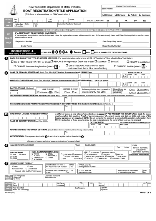boat licence application form nsw