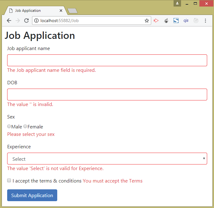 can you ask for date of birth on job application