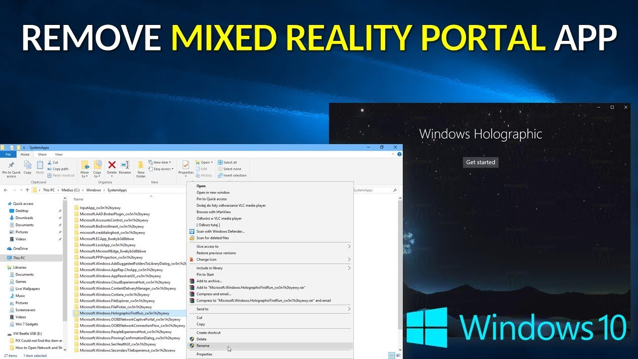 cannot uninstall app windows 10 please close the application first