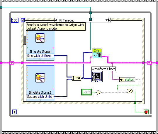 daq and control application in labview