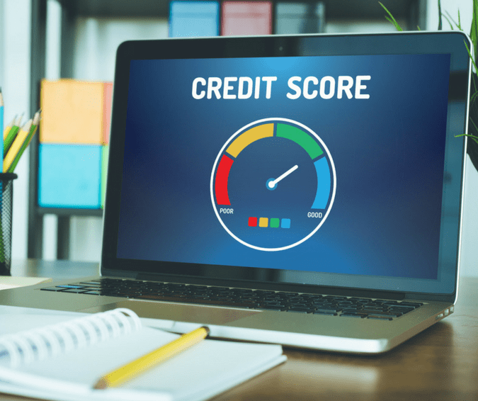 does a rejected phone application show up on credit rating