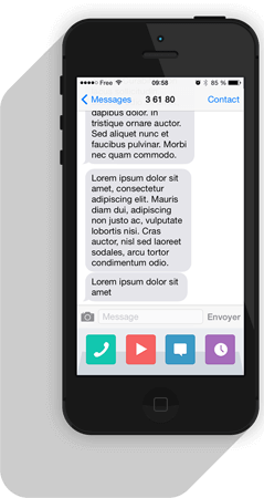 sms text messaging api for web applications