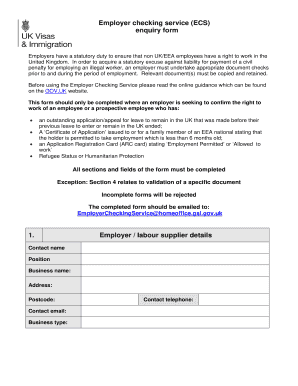 eea family member application form