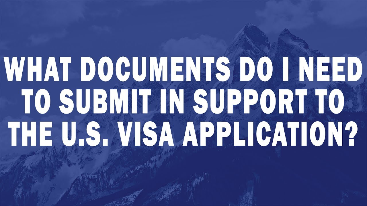 what documents do i need to support an avo application