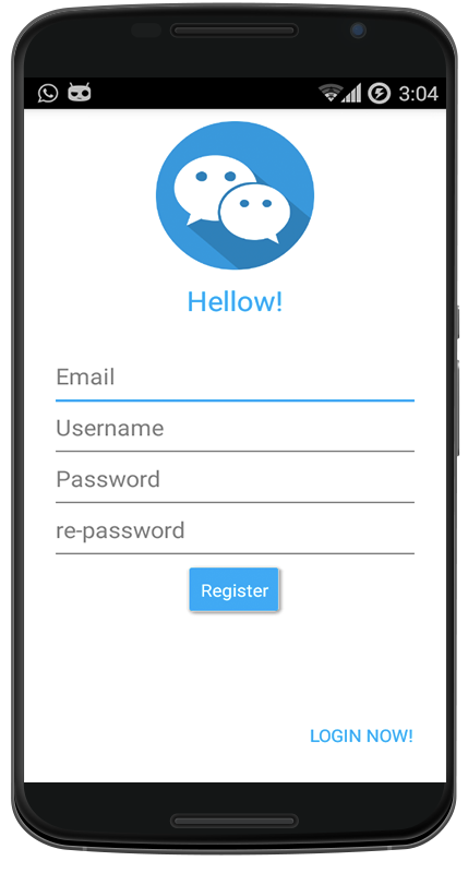 how to create a realtime chat application