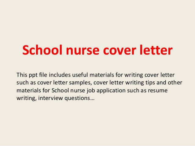 how to write an application letter for nursing learnership