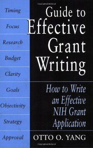 how to write an effective grant application