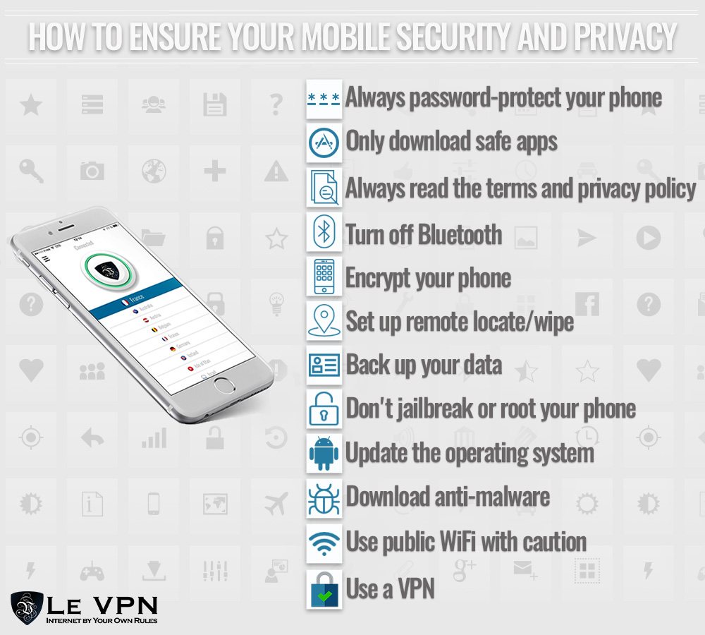 mobile phone application security 2017