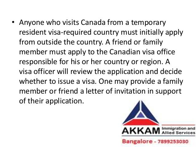 sample letter of support for visa application canada
