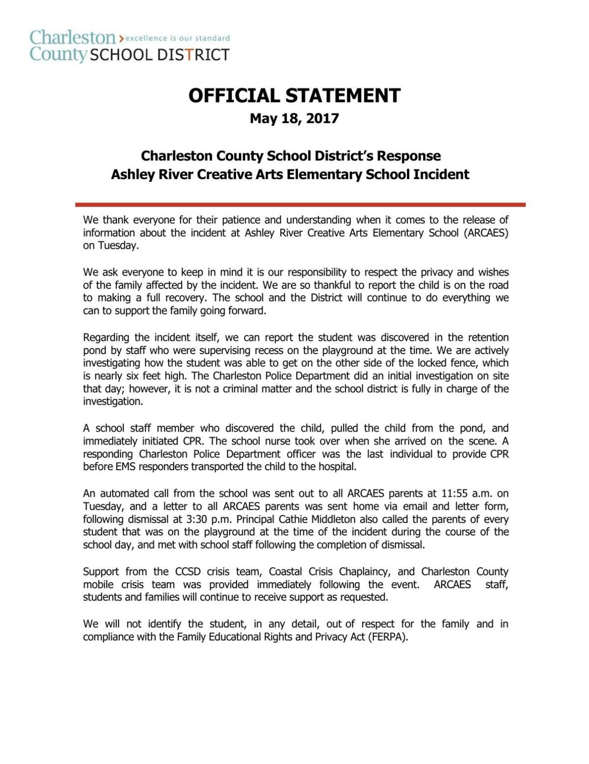 statement supporting application for enforcement warrant